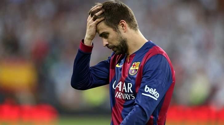 برشلونة يفقد خدمات بيكيه أمام لاس بالماس