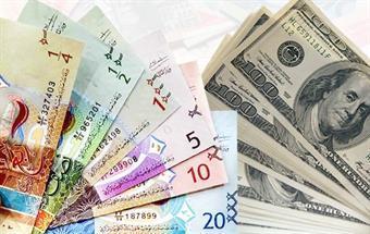 استقرار سعر صرف الدولار واليورو أمام الدينار