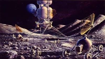 اكتشاف حمم بركانية على سطح القمر
