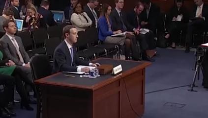 5 لحظات محرجة واجهها مؤسس فيسبوك في جلسة التحقيق معه أمام الكونغرس