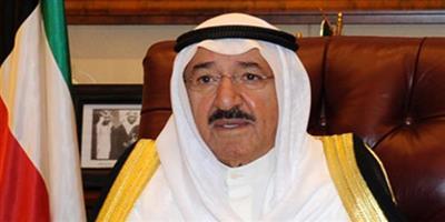 سمو أمير البلاد يعزي ملك البحرين بوفاة الشيخ عبدالرحمن بن عبدالله آل خليفة