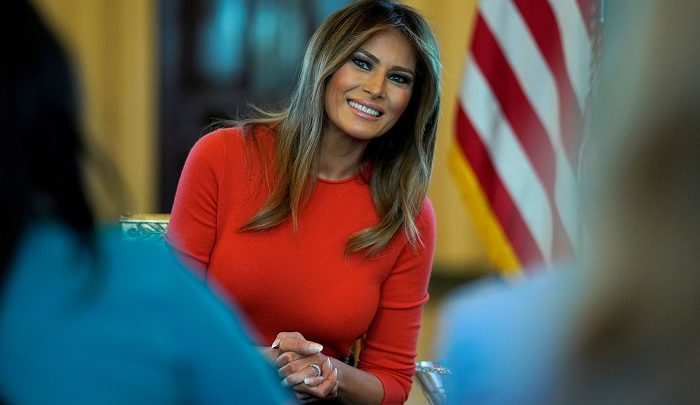 ترامب: السيدة الأولى بخير