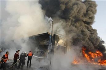 قتلى وجرحى في تفجير انتحاري استهدف مجلس عزاء شمالي بغداد