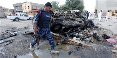 قتلى وجرحى في تفجير انتحاري شمالي بغداد