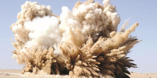 تفجير عشرة أطنان من الديناميت لـ «تعبيد» أرض المطلاع