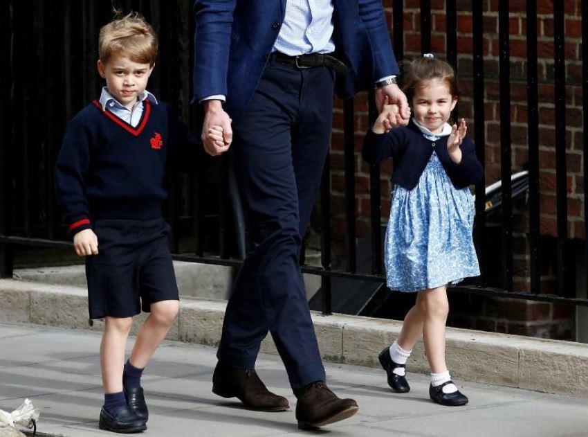 طفلا الأمير وليام يلعبان دورين رئيسيين في زفاف شقيقه هاري