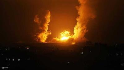 مقاتلات الاحتلال نفذت 6 غارات على أهداف في قطاع غزة