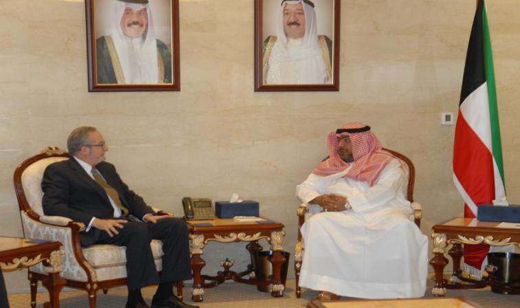 القضايا الإقليمية على طاولة اجتماع رئيس الأمن الوطني والسفير الأمريكي