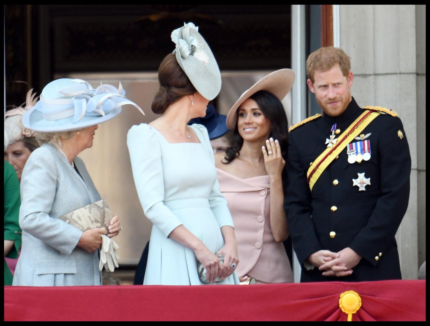 أول مشاركة لميغان في الاحتفال الرسمي بميلاد الملكة
