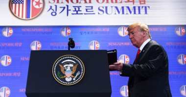 ترامب يغادر سنغافورة في ختام قمته مع زعيم كوريا الشمالية