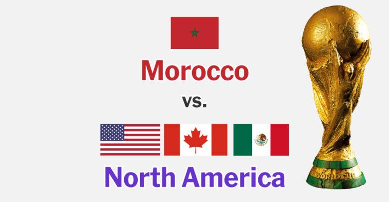 ملف أمريكا وكندا والمكسيك..يفوز بتنظيم كأس العالم 2026