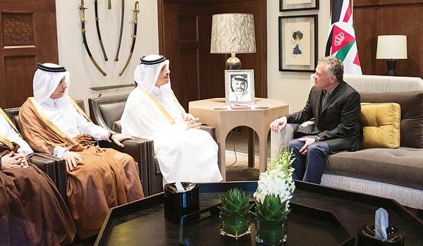 قطر تدعم الأردن بـ10 آلاف وظيفة و500 مليون دولار