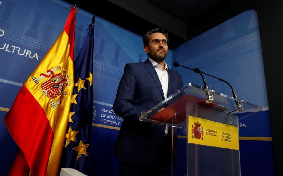 استقالة وزير الثقافة الإسباني بعد تقارير عن تهرب ضريبي