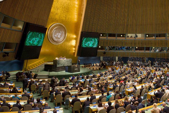 120 دولة في الأمم المتحدة تدين إسرائيل لاستخدامها القوة المفرطة في غزة