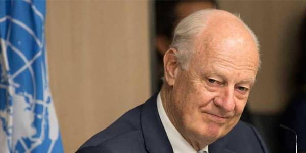 دي ميستورا: نشهد حراكا في العملية السياسية السورية