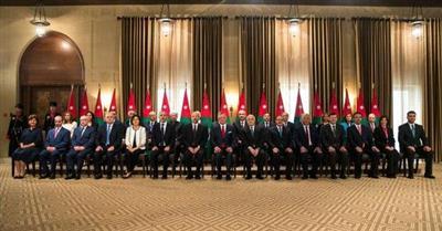 الحكومة الأردنية الجديدة تؤدي اليمين الدستورية.. و7 حقائب نسائية للمرة الأولى