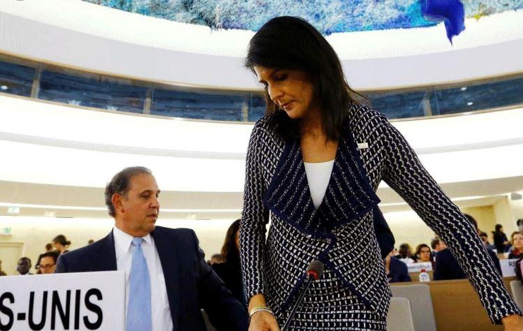 فرنسا تأسف للإنسحاب الأمريكي من مجلس حقوق الانسان الأممي