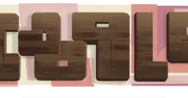 «غوغل» يحتفي بأول فنانة تجريدية في لبنان