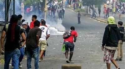 نيكاراغوا.. مقتل 14 باشتباكات بين القوات الحكومية ومعارضين للرئيس أورتيغا