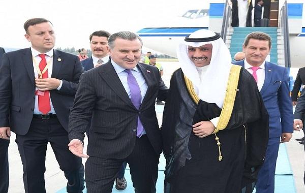 الغانم يصل أنقرة لتمثيل الأمير في حفل تنصيب أردوغان