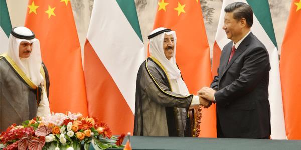 الرئيس شي جين بينغ: أمير الكويت صديق حميم للشعب الصيني