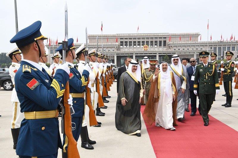 سمو الأمير يغادر الصين بعد زيارة الدولة وترؤس سموه وفد الكويت بافتتاح منتدى التعاون الصيني العربي