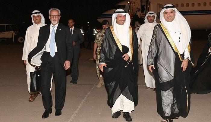 الغانم يعود إلى البلاد بعد مشاركته بحفل تنصيب أردوغان