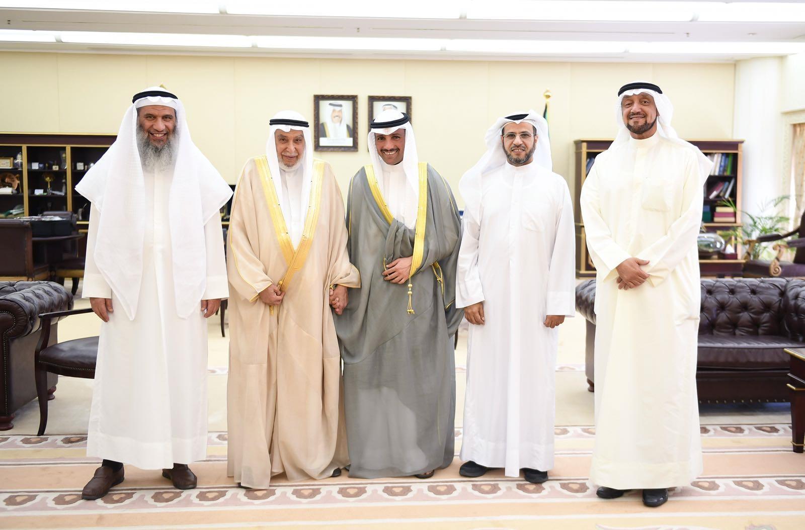 الغانم يستقبل مجلس إدارة جمعية الإصلاح الاجتماعي الجديد