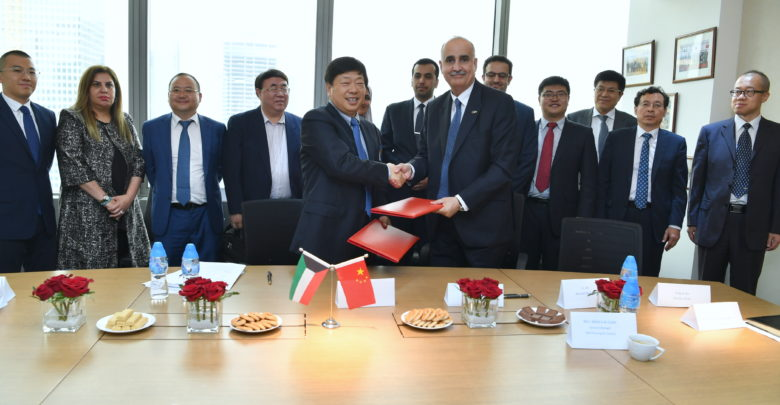 «البترول الكويتية» توقع اتفاقية مع مجموعة صينية