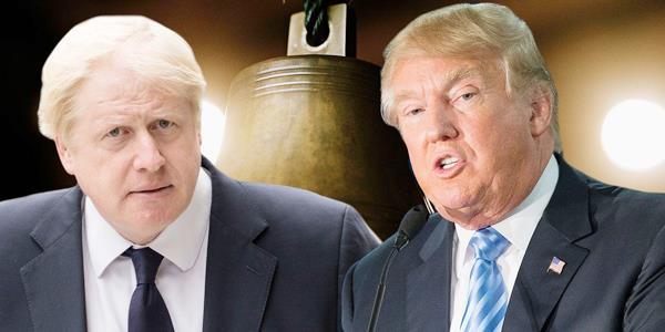 ترامب يشيد بوزير خارجية بريطانيا المستقيل: صديقي.. ودعمني كثيرا