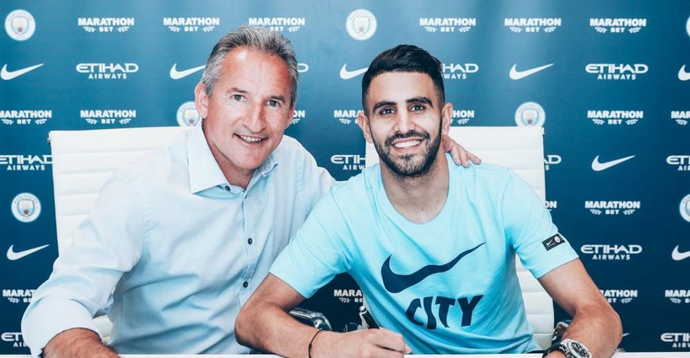 الجزائري محرز ينضم إلى مانشستر سيتي