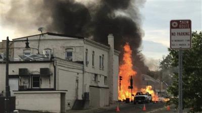 سقوط مصابين في انفجار بولاية ويسكونسن الأمريكية