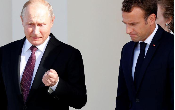 «الكرملين»: بوتين وماكرون قد يجريان محادثات في نهائي كأس العالم