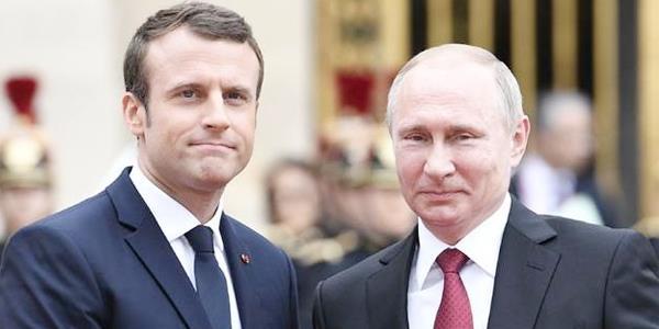 ماكرون يلتقي بوتين على هامش نهائي كأس العالم في موسكو