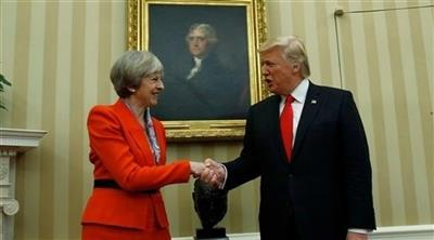 ترامب يزور بريطانيا.. رغم الاحتجاجات