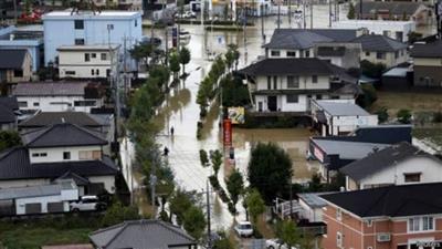 ارتفاع عدد ضحايا الفيضانات في اليابان لنحو 200 شخص وفقدان العشرات