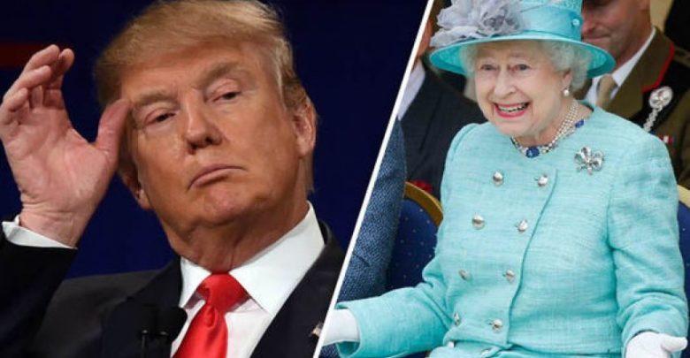 ترامب سيحتسي الشاي مع الملكة إليزابيث