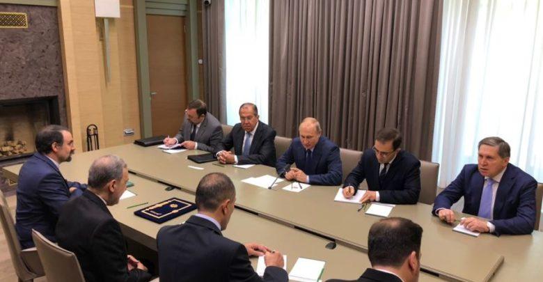 بوتين يجتمع مع مستشار خامنئي