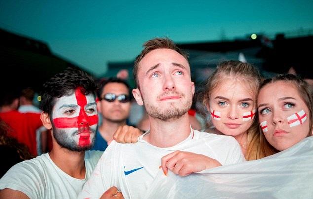 الإنجليز فخورون بمنتخبهم رغم مرارة الهزيمة أمام كرواتيا
