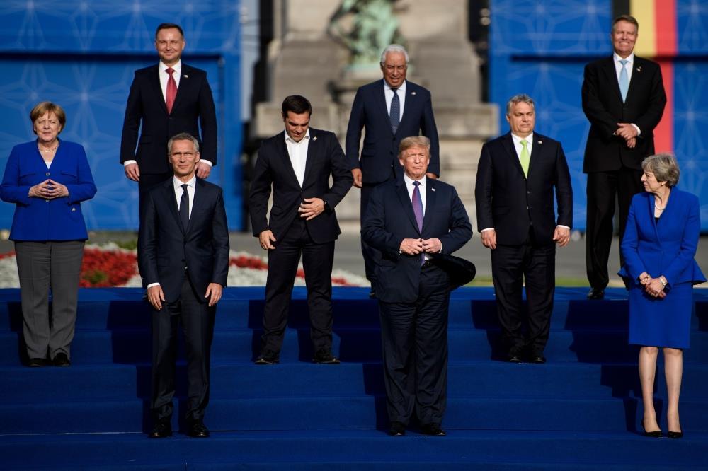 ترامب يهاجم حلف شمال الأطلسي في جلسة مغلقة