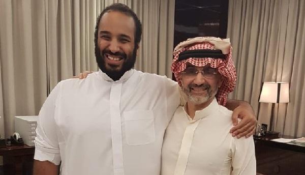 بن طلال يلتقي بن سلمان: سأكون أكبر الداعمين لرؤية 2030