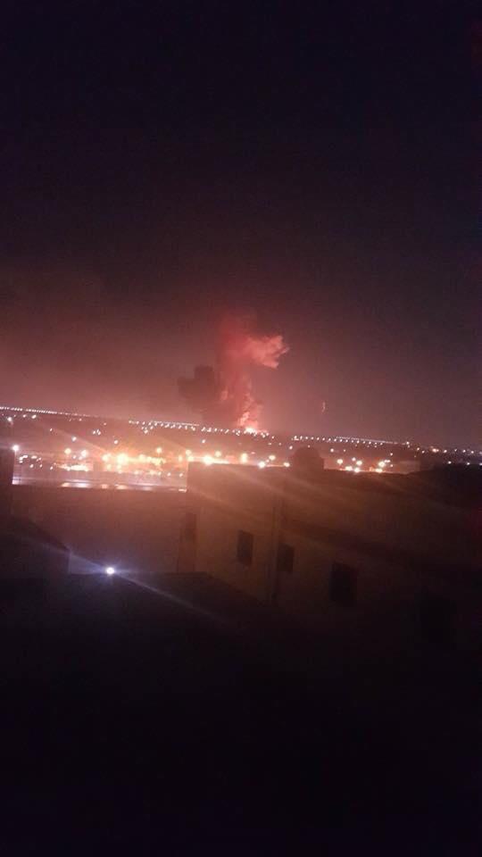 سماع دوي انفجار قرب مطار القاهرة