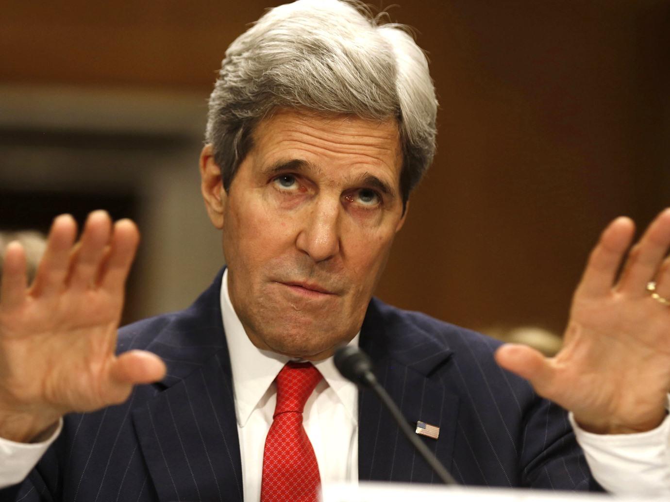 جون كيري يتهم هادي بأنه السبب وراء فشل مباحثات السلام اليمنية بالكويت !