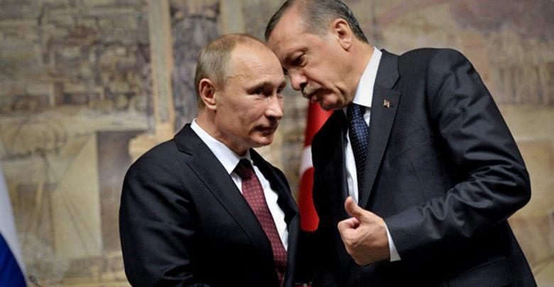 أردوغان يلتقي بوتين الإثنين المقبل في سوتشي