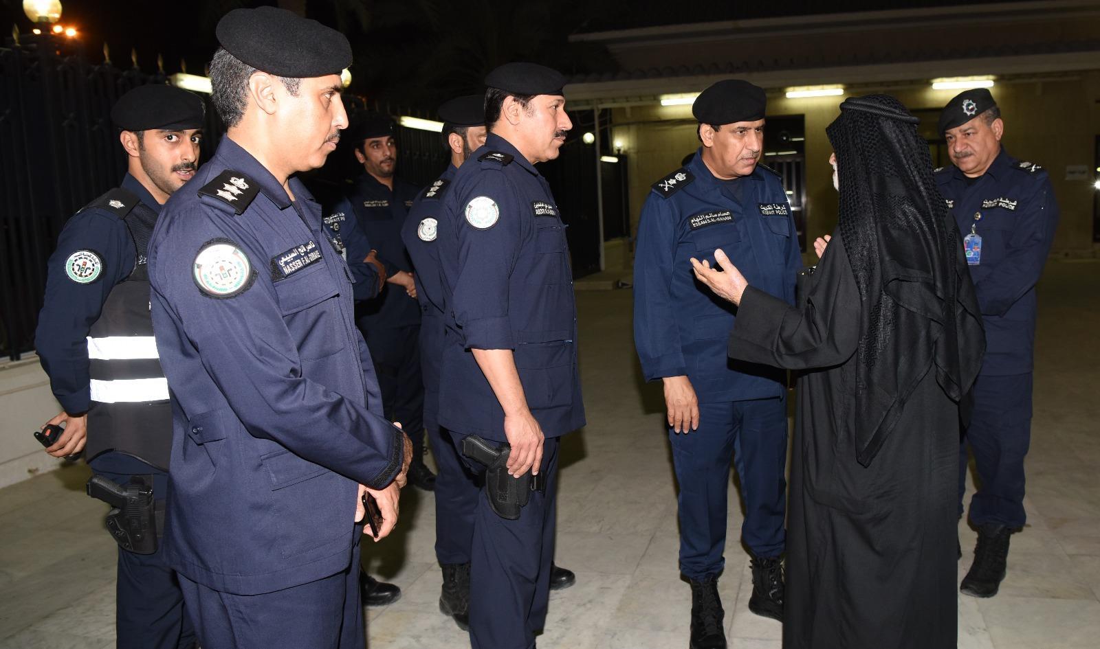 وكيل «الداخلية» يقوم بجولة ميدانية على مجالس الحسينيات وبيوت العزاء