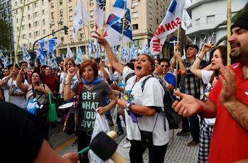 تواصل المظاهرات في الأرجنيتن ضد الإجراءات الاقتصادية للحكومة