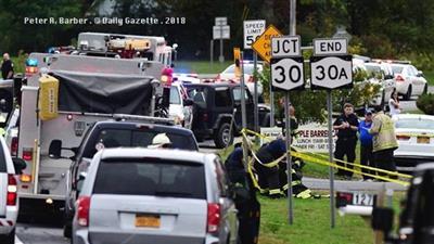 مقتل 20 شخصا في حادث سير مروع بنيويورك