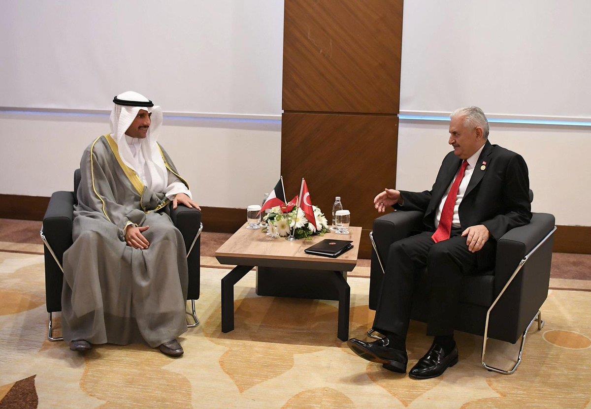 الرئيس الغانم يجري مباحثات مع يلدريم والحلبوسي في أنطاليا.. ويلتقي الفايز