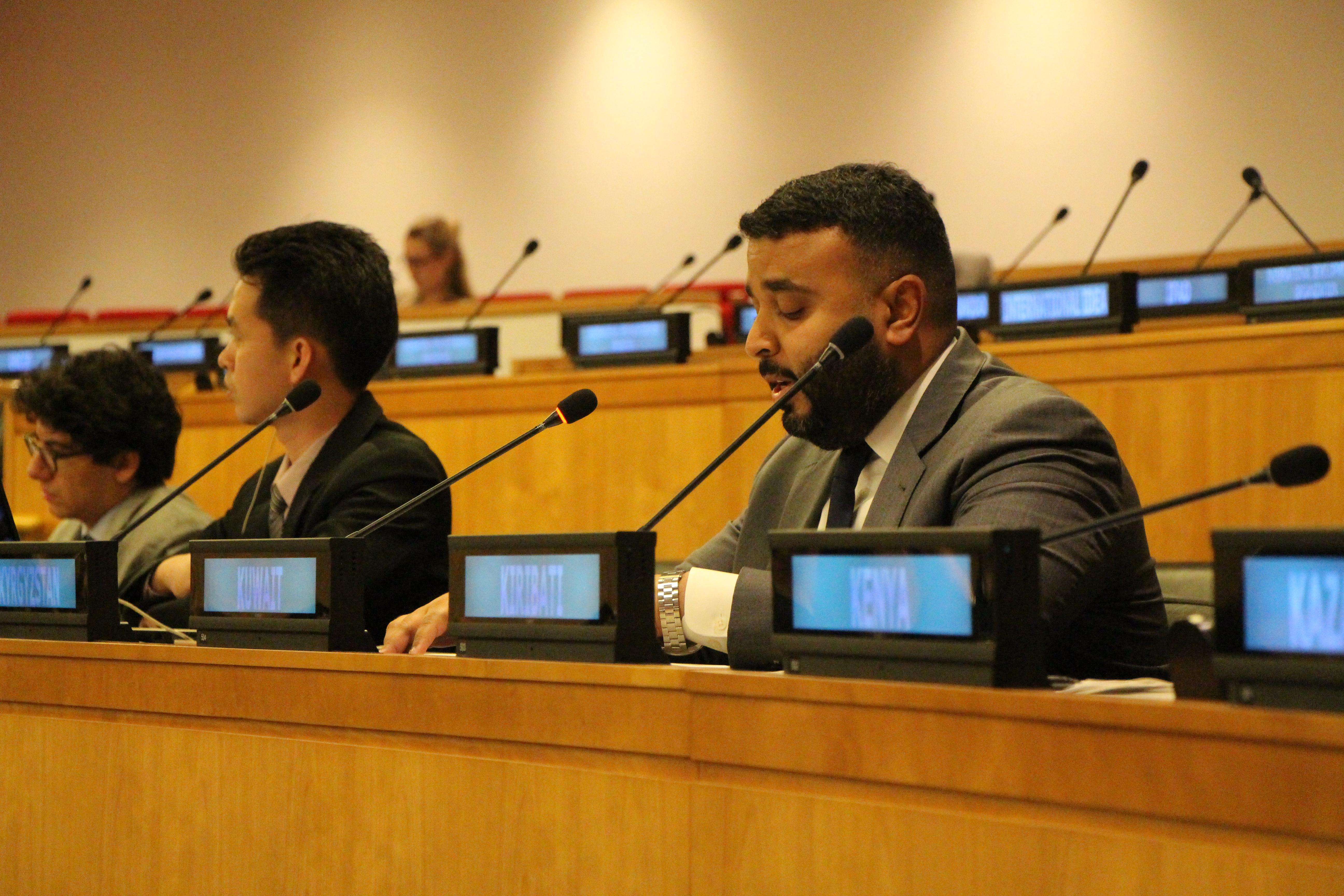 الكويت تؤكد الحرص على تنفيذ الخطط الإنمائية تحت مظلة الأمم المتحدة