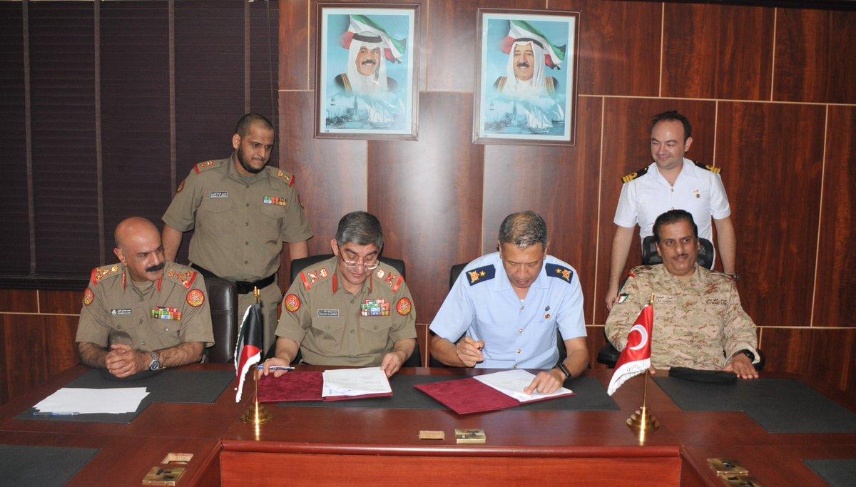 توقيع خطة عمل التعاون الدفاعي بين الكويت وتركيا